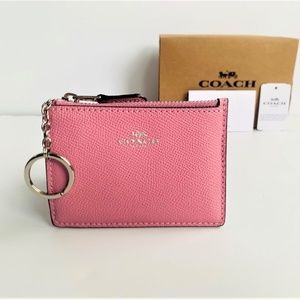 NWT Coach Mini ID Skinny Key Chain Case